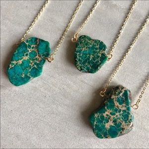 Jewelry - ✨🌟Raw Jasper Sea Sediment Necklace🌟✨